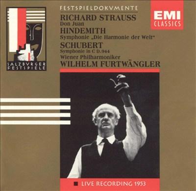 Furtwängler Conducts Strauss, Hindemith & Schubert