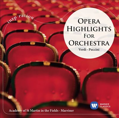 Opera Highlights for Orchestra: Verdi, Puccini