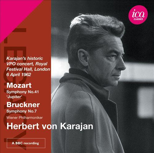 Herbert von Karajan conducts Mozart, Bruckner