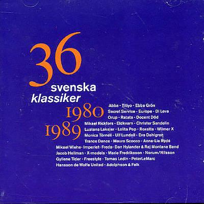 36 Svenska Klassiker: 1980-1989
