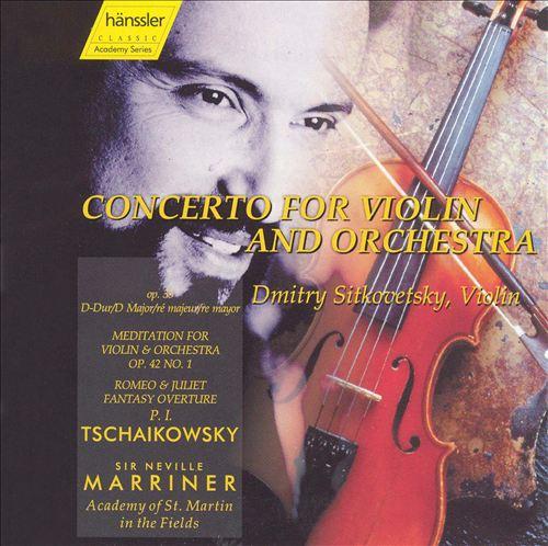 Tchaikovsky: Concerto for Violin & Orchestra