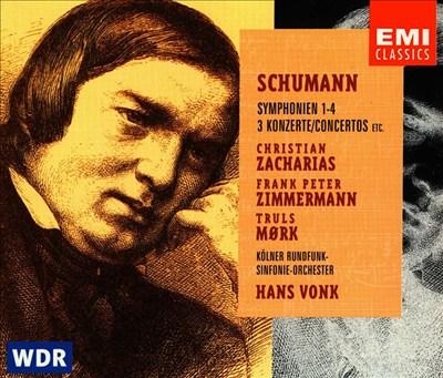 Schumann: Symphonies 1-4, etc.