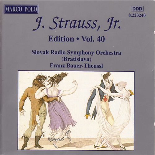 J. Strauss, Jr. Edition, Vol. 40
