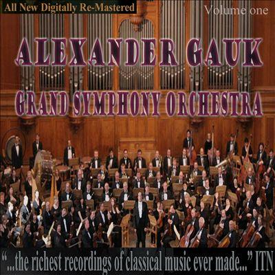 Alexander Gauk, Grand Symphony Orchestra, Vol. 1