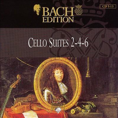 Bach: Cello Suites 2-4-6