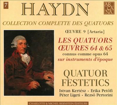 Haydn: Collection Complete des Quatuors, Vol. 7 - Les Quatuors Oeuvres 64 & 65 (Op. 64)
