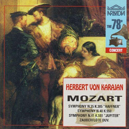 "Mozart: Symphonies Nos. 35 ""Haffner"", 40, 41 ""Jupiter""; Zauberflöte Ouverture"