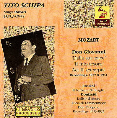 Tito Schipa Sings Mozart (1913 - 1941)