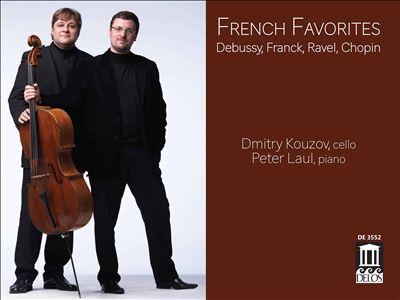 French Favorites: Debussy, Franck, Ravel, Chopin