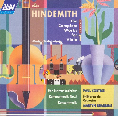Hindemith: The Complete Works for Viola, Vol. 1