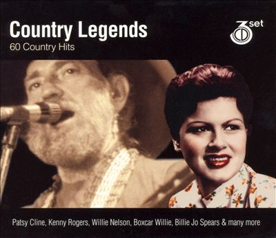 Country Legends: 60 Country Hits