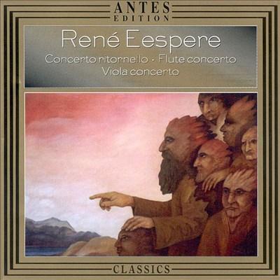 Eespere: Concerto Ritornello / Flute Concerto / Viola Concerto