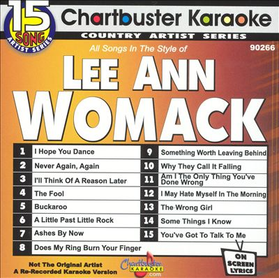 Chartbuster Karaoke: Lee Ann Womack