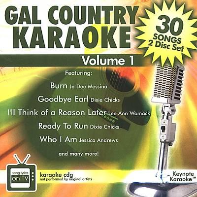 Gal Country Karaoke, Vol. 1