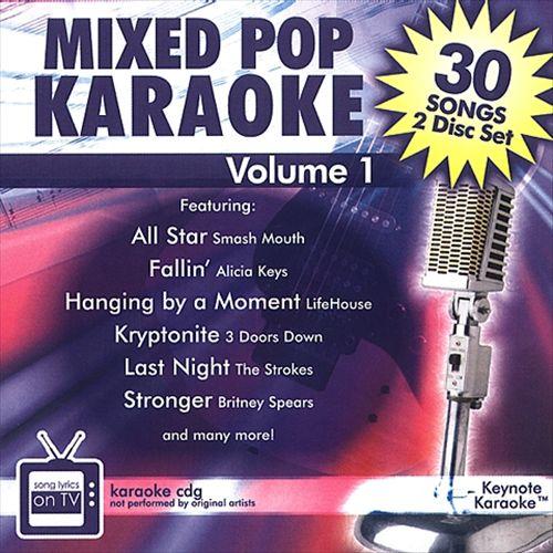 Mixed Pop Karaoke, Vol. 1
