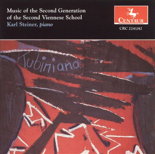 Music of the Second Generation of the Second Viennese School