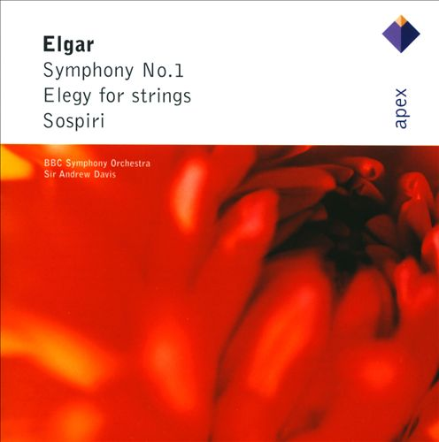 Elgar: Symphony No. 1; Elegy for Strings; Sospiri