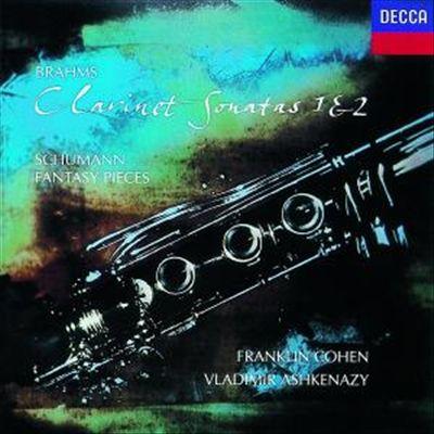 Brahms: Clarinet Sonatas 1 & 2; Schumann: Fantasy Pieces [European Import]