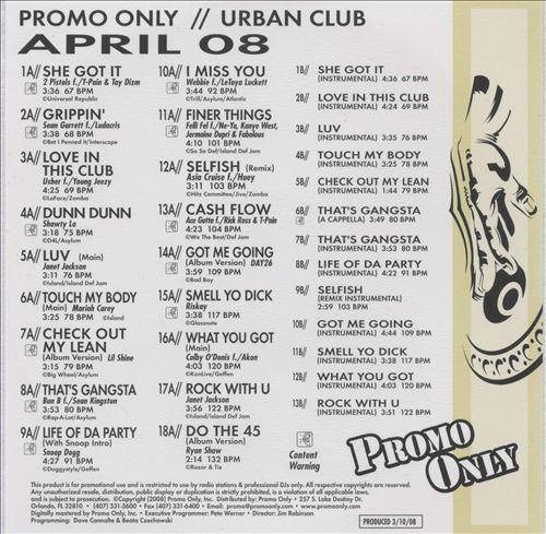 Promo Only: Urban Club (April 2008)