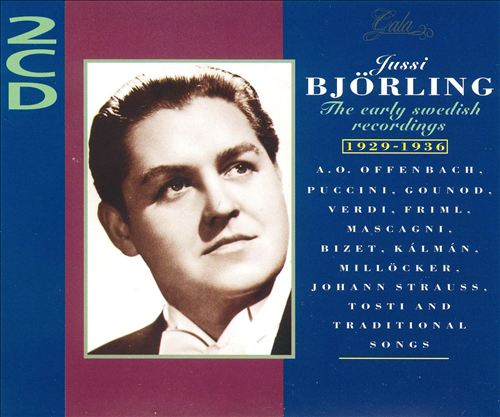 Jussi Björling Early Swedish Recordings