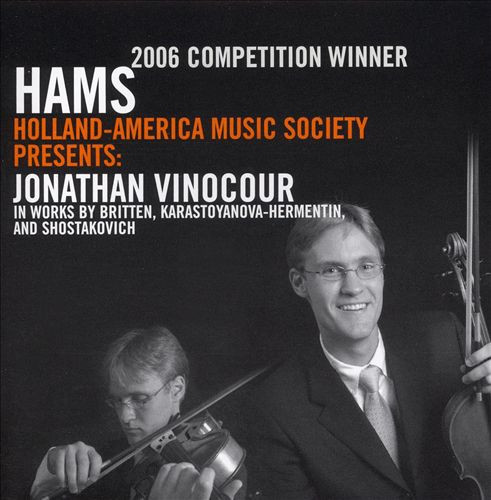 2006 HAMS Competition Winner for Viola