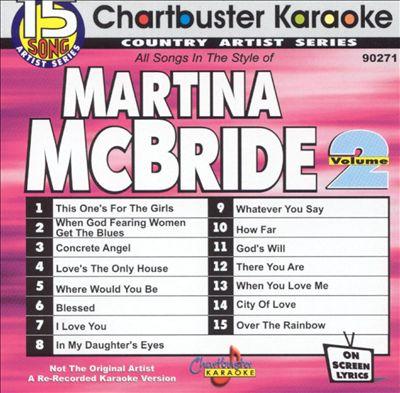 Chartbuster Karaoke: Martina McBride, Vol. 2