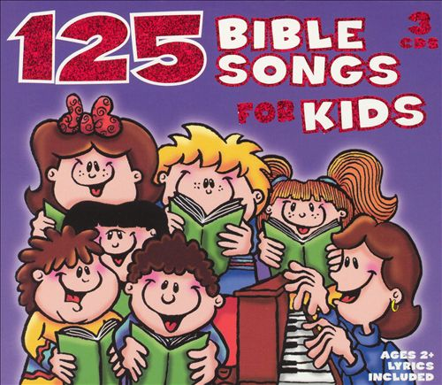 125 Bible Songs for Kids [Box Set]
