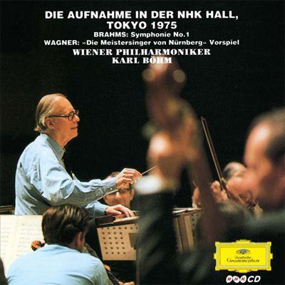 """Brahms: Symphonie No. 1; Wagner: """"Die Meistersigner von Nürnberg"""" Vorspiel"""