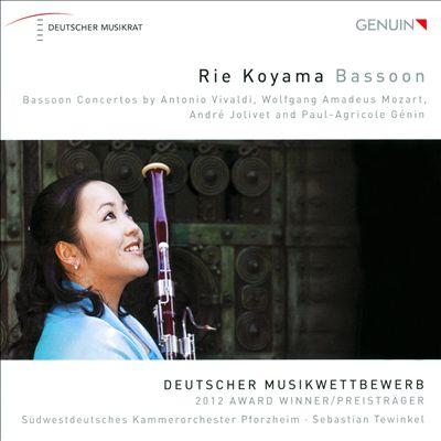 Bassoon Concertos by Vivaldi, Mozart, Jolivet and Paul-Agricole Génin