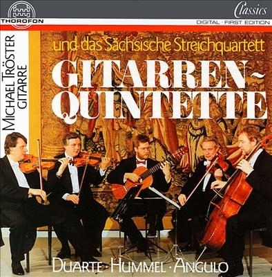 Gitarren-Quintette: Duarte, Hummel, Angulo
