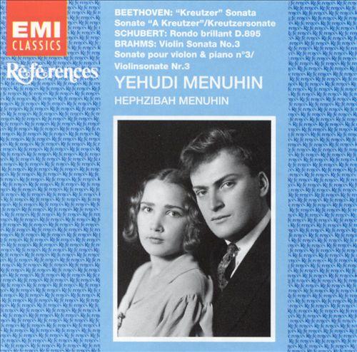 Menuhin Plays Beethoven, Schubert & Brahms