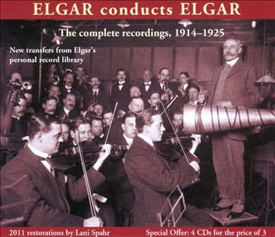 Elgar Conducts Elgar: The Complete Recordings 1914-1925