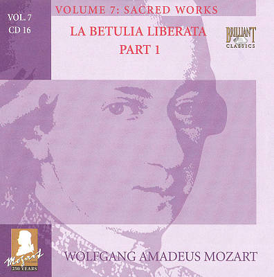 Mozart: Complete Works, Vol. 7 - Sacred Works, Disc 16