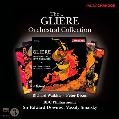 The Glière Orchestral Collection
