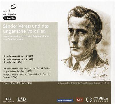 Sándor Veress und das Ungarische Volkslied