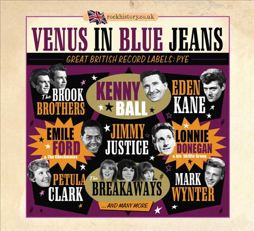 Venus in Blue Jeans: Great British Record Labels - Pye