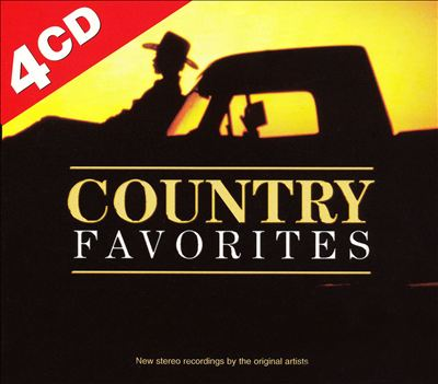 Country Favorites [Madacy 4-CD]