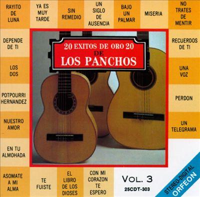 20 Exitos de Oro de los Panchos, Vol. 3