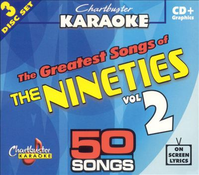 Chartbuster Karaoke: Greatest Songs of 90s Pop Hits