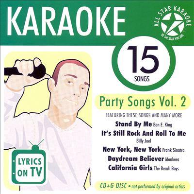 Karaoke: Party Songs, Vol. 2