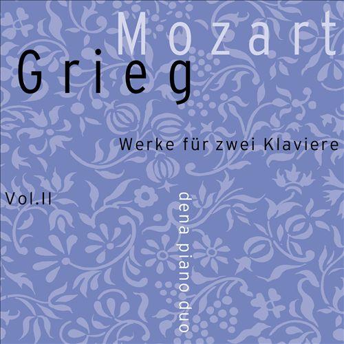 Mozart-Grieg: Werke für zwie Klaviere, Vol. 2 [with BluRay]