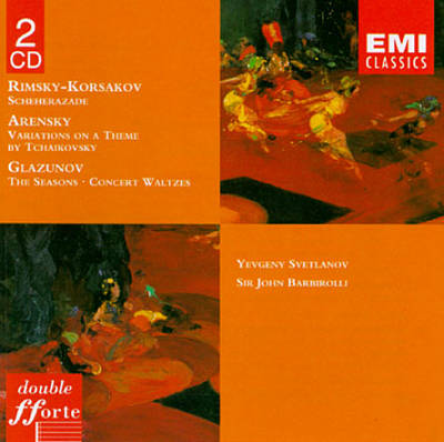 Rimsky-Korsakov: Scheherazade; Arensky: Variations on a theme of Tchaikovsky; Glazunov: The Seasons; Concert Waltzes
