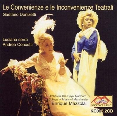 Donizetti: Le Convenienze e le Inconvenienze Teatrali