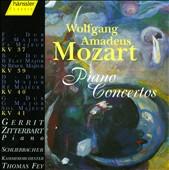 Mozart: Piano Concertos, KV 37, KV 39, KV 40, KV 41