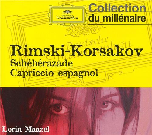 Rimski-Korsakov: Schéhérazade; Capriccio espagnol