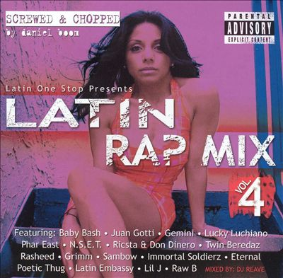 Latin Rap Mix, Vol. 4 [Screwed and Chopped]