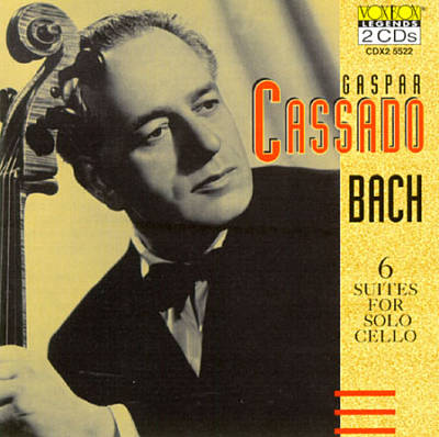 Bach: 6 Suites for Solo Cello