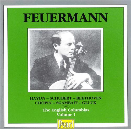 Feuermann: The English Columblas, Vol. 1