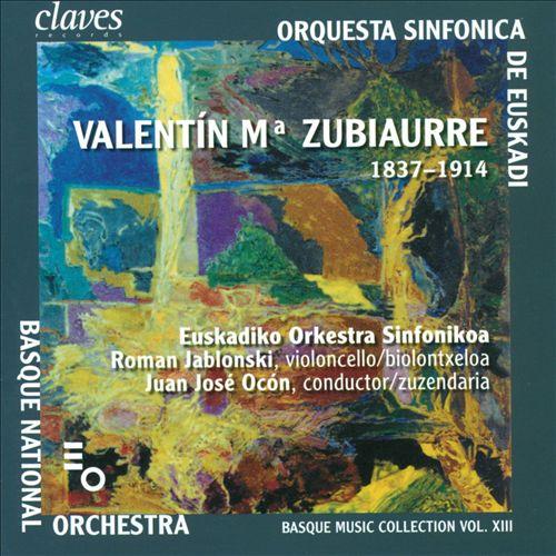 Basque Music Collection Vol. 13: Valentín Ma Zubiaurre