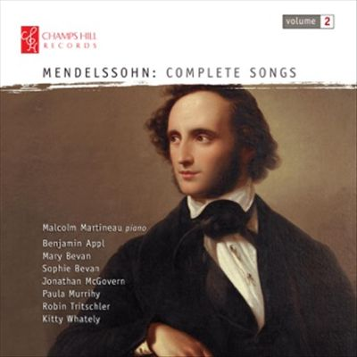 Mendelssohn: Songs, Vol. 2
